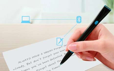 Filesharing Bluetooth Doodlers - Yanko Design Recorder Pen Can Share Your Words While You Write