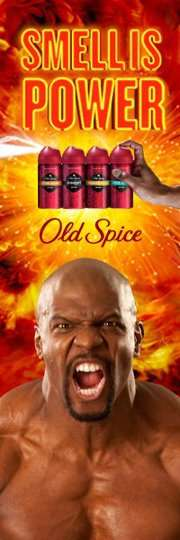 old spice smell is power