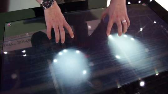 Interactive Sense-screen Tables
