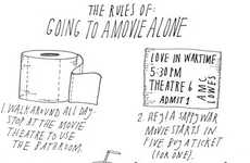 Awkward Single Lady Guides - 'The Rules of Going to a Movie Alone' Promotes Flying Solo