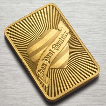 Jean Paul Gaultier Gold Bullion Bar