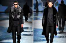 Bold Geometric Menswear - The Hardy Aimes Fall/Winter 2012 Collection Will Warm Your Spirits