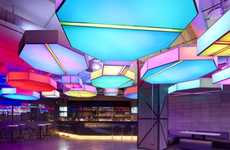 Dynamic Geometry Discos - Club Octagon Features an Astonishing and Modern Interior