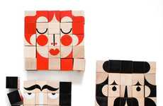 Cute Character Building Blocks