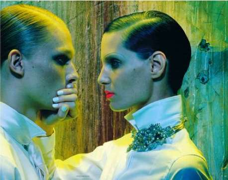 Get Sharp by Miles Aldridge