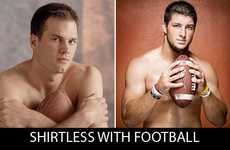 The Tom Brady vs. Tim Tebow Pictures are Hilarious