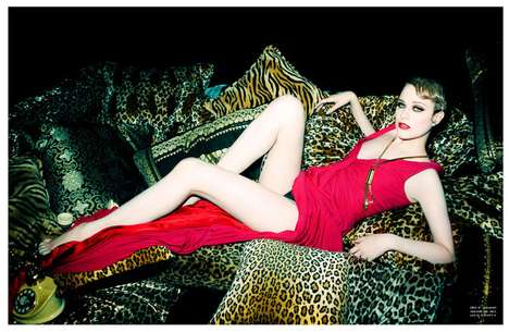 Rachel Evan Woods Flaunt