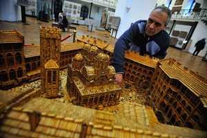 Plamen Ignatov Used 6 Million Matches to Create This Sculpture