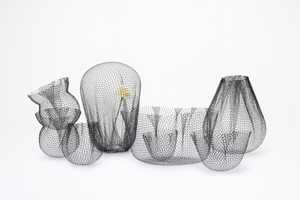 The 'Farming-net' Collection by Nendo is Whimsically Delicate