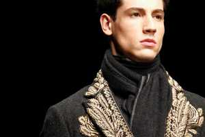 The Dolce & Gabbana FW13 Men Collection Brings Back Middle-Age Glamor