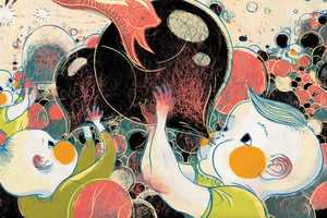 Victo Ngai Illustrates Whimsical Images with Chubby-Faced Kids
