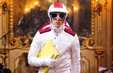 Speed Racer Runways - The Moncler Gamme Bleu Fall/Winter Collection is Sensationally Sporty