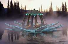 Floating Lotus Cabins