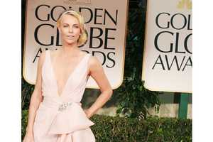 The 2012 Golden Globes Red Carpet Was Awash with Neutral Tones