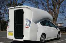 Hybrid RV Conversions - The Prius Camper Van Makes the Four-Door Green Machine Habitable