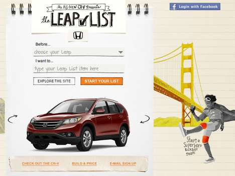 honda leap list