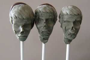 Zombie Pops from StarlingSkies are Tastefully Gruesome