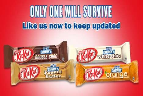 kit kat choose a chunky champion