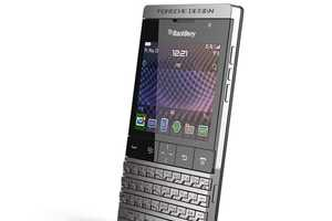 The Porsche & BlackBerry P'9981 Model at CES 2012 is Revamped