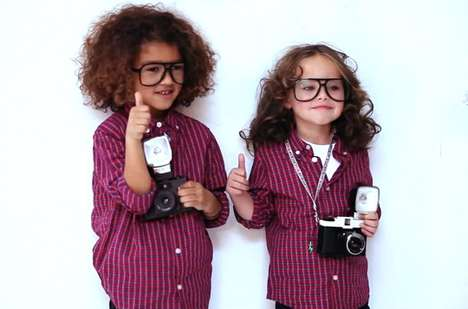 Pint-Sized Fashion Photographers - Terry Richardson Shoots ELEVENPARIS Spring Summer 2012 Campaign