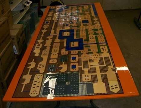 Zelda beer pong table