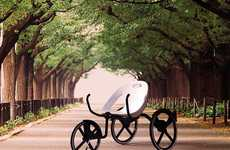 Recreational Hybrid Bikes - C-bike by Reza Rachmat Sumirat is a Chair and a Vehicle