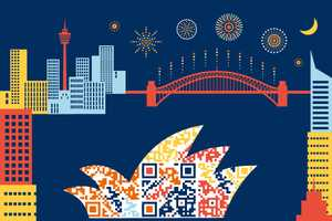 Tourist QR Codes Make Business Artistic in Sydney