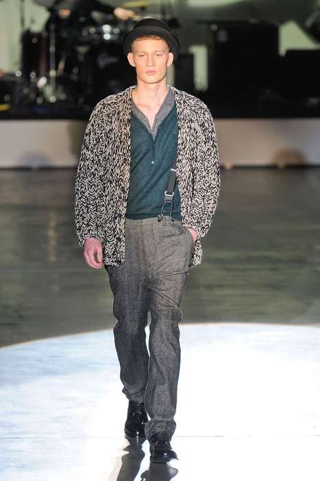 Iceberg fall winter 2012 menswear