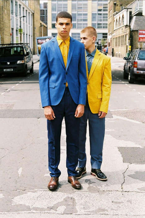 Street-Side Suited Captures - The Omari Dixon and Igor Stapanov Hero Magazine Editorial is Eccentric