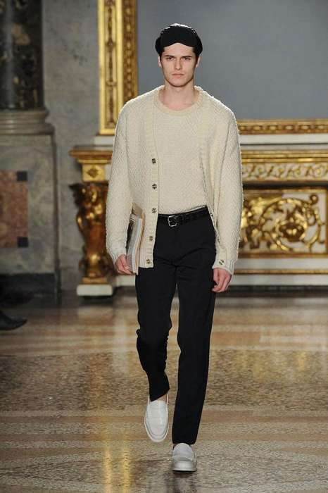 Nicole Farhi fall winter 2012 menswear