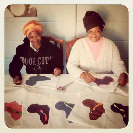 Hope-Promoting Handmade Bags - The 94 Store Employs Historically Disadvantaged South Africans