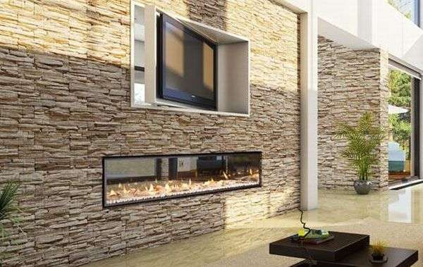 Modern Far-Reaching Fireplaces