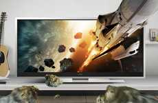 Cinema Vision TVs - Super Wide TV Takes a Walk on the Wild Side