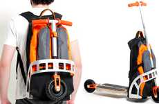 Convertible Scooter Knapsacks