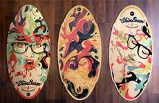 Graffiti-Adorned Beach Boards - SkimBeam Produces Customized Skim Boards