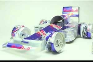 The Red Bull Stop-Motion Racecar Will Give You Wings