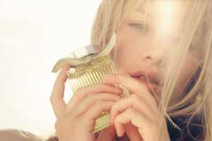 The Camille Rowe for Chloe the Fragance Ads are Feminine and Cute