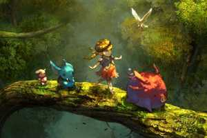 Kyoung Hwan Kim Renders Woodlands Full of Whimsy and Magic