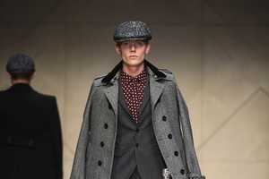 The Burbery Prorsum FW 2012 Menswear Line is Chic for the City
