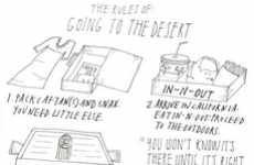 Tumultuous Travel Guides - 'The Rules of Going to the Desert' is Hilariously Accurate