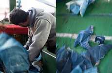 Recycled Denim Ads - Nudie Jeans Show How Their Products are Made