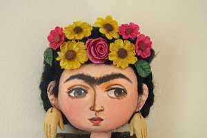 Frida Kalho Dolls are Cute and Creative
