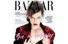 15 Marvelous Milla Jovovich Editorials