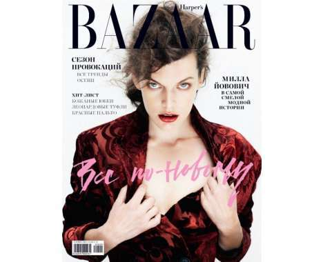 Milla Jovovich editorials