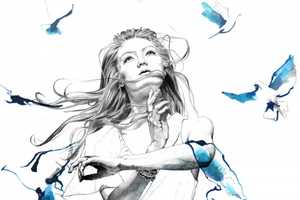 Lucy Evans Illustrates Dream-Like Images of Women in Motion