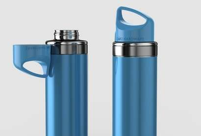 Magnetic Top Water Bottle