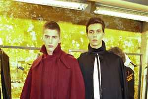 The Mugler Menswear FW 2012 Collection Features Folklore Attire