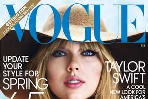 The Taylor Swift Vogue Editorial is Retro