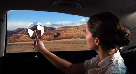 Animated Auto Windows - The Windows of Opportunity Project Strives to Entertain the Backseat