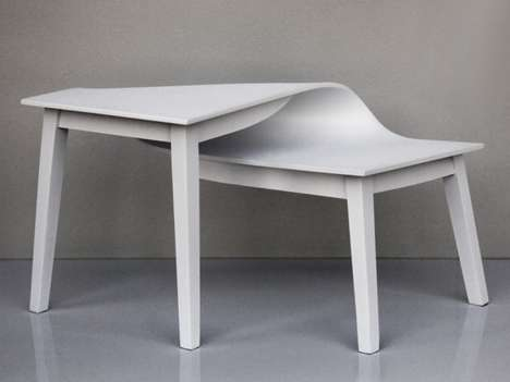 Distorted Tables by Suzy Lelievre